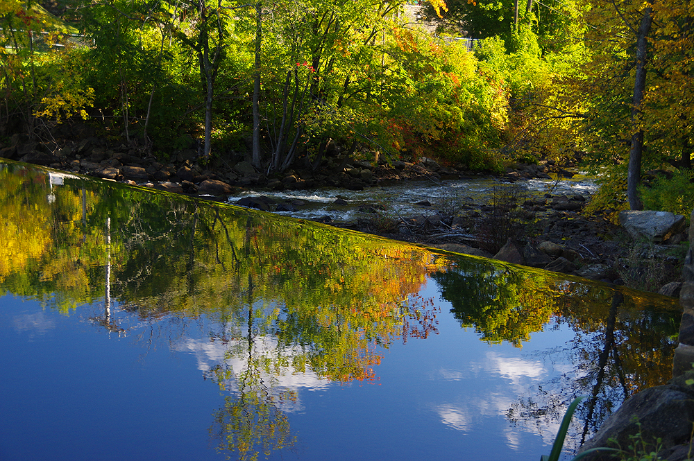Cedar Falls >> Autumn in New Jersey - High Point State Park and Boonton Falls